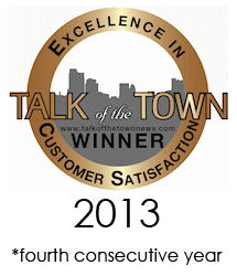Dr dembny talk of the town award 2013 four consecutive years